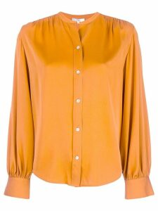 Vince button-up blouse - ORANGE