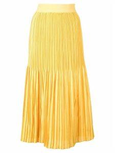 Alice+Olivia pleated skirt - Yellow