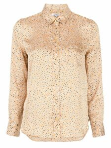 Equipment floral-print shirt - Yellow