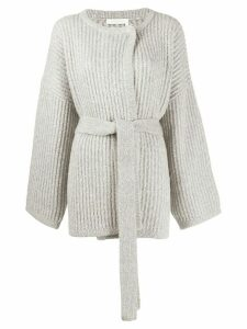See by Chloé belted cardigan - Grey