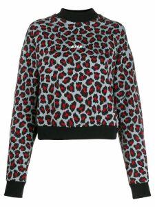 MSGM patterned jumper - Red
