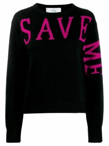 Alberta Ferretti Save Me jumper - Black