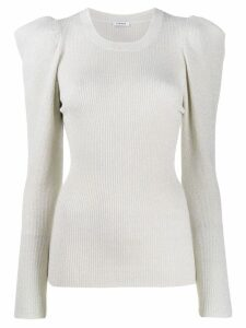 P.A.R.O.S.H. ribbed sweatshirt - NEUTRALS