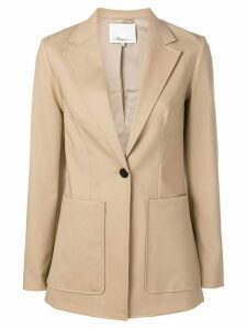 3.1 Phillip Lim Tailored Wool Jacket - NEUTRALS