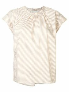3.1 Phillip Lim Twisted-Neck Top - NEUTRALS