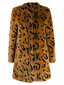 Steffen Schraut Wild faux fur coat - Brown