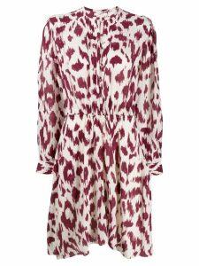Isabel Marant Étoile Yandra printed dress - NEUTRALS