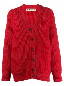 Marni oversized cardigan - Red