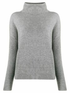 Vince funnel neck sweater - Grey