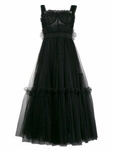 Dolce & Gabbana tiered midi dress - Black