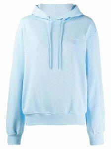 Chiara Ferragni logomania hoodie - Blue
