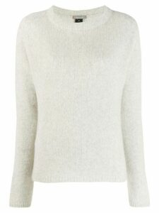 Suzusan Crossed Out jumper - Grey