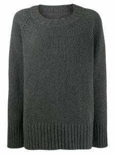 Maison Margiela chunky knit jumper - Grey