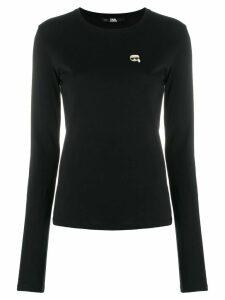 Karl Lagerfeld Ikonik T-shirt - Black