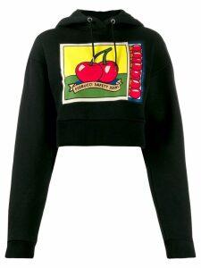 Fiorucci cherries hoodie - Black