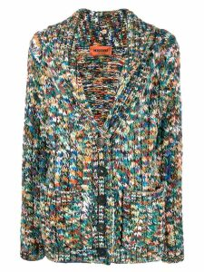Missoni mottled knit cardigan - Green