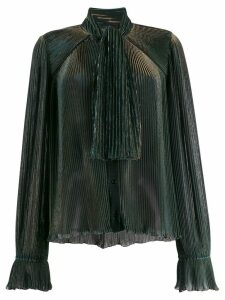 Marco De Vincenzo pleated blouse - Blue