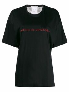 Marco De Vincenzo rhinestone embelished T-shirt - Black