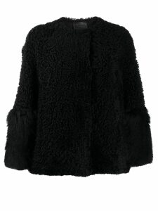 Prada shearling jacket - Black