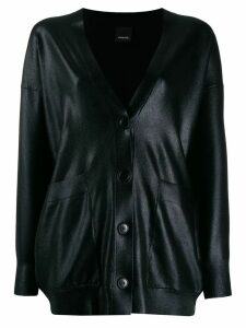 Pinko long-sleeve fitted cardigan - Black