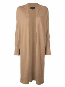 Nili Lotan long knit cardigan - Brown