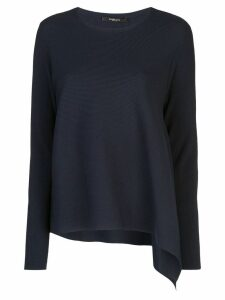 Derek Lam asymmetric draped jumper - Blue