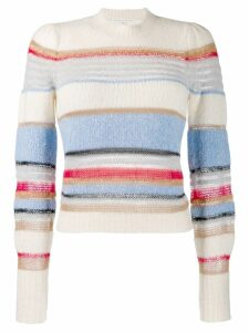 Veronica Beard Meredith knitted pullover - NEUTRALS