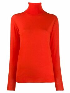 Stella McCartney loose fit polo neck - Red