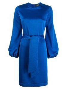 Gianluca Capannolo satin shift dress - Blue