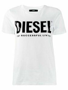 Diesel PVC logo T-shirt - White