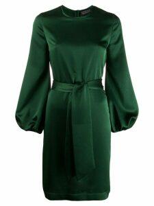 Gianluca Capannolo satin shift dress - Green