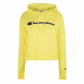 Champion Logo Hoodie - YELLOW