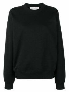 Victoria Victoria Beckham logo sweatshirt - Black