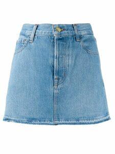 J Brand a-line denim skirt - Blue