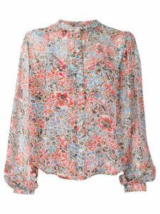 Veronica Beard Ashylnn blouse - Brown