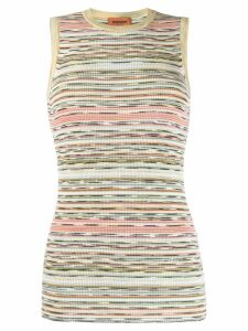 Missoni ribbed knit top - Green