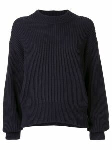 Helmut Lang crew neck jumper - Blue