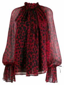 Redemption leopard print blouse
