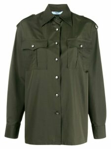 Prada military shirt - Green
