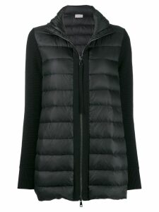 Moncler puffer sweater - Black