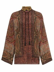 Etro paisley print silk blouse - 150 MULTICOLOR