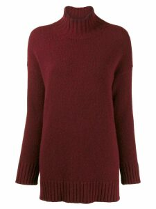 Pringle of Scotland roll neck sweater - Red