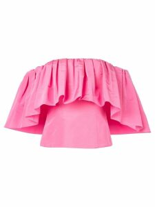Carolina Herrera off the shoulder blouse - PINK