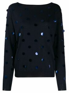 P.A.R.O.S.H. appliqué jumper - Blue