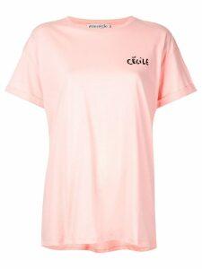 Être Cécile Love Bird T-shirt - Pink