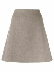 Theory A-line skirt - Grey