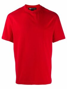 Y-3 classic crew neck T-shirt - Red