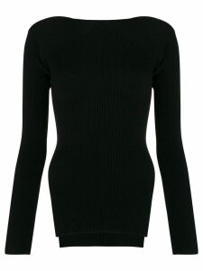 Alexander Wang ribbed knit sweater - Black