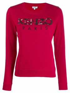 Kenzo logo jumper - Red