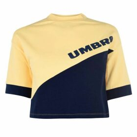 Umbro Umbro Womens Temp Crop Top - AURORA/MEDIEVAL